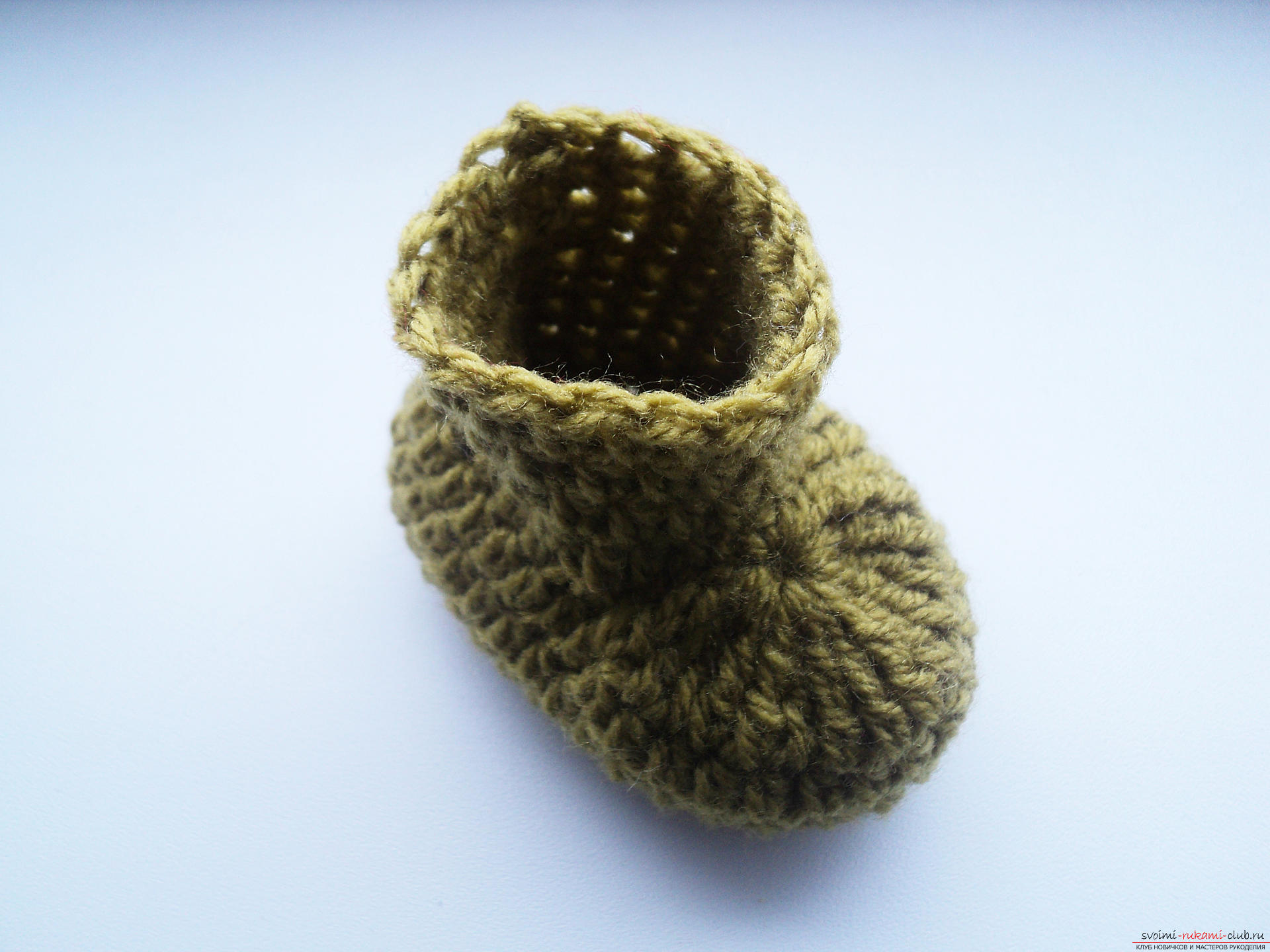 Вяжем пинетки для новорожденных для чайников - Вяжем на спицах плиссированную юбочку для девочки 3-5 лет