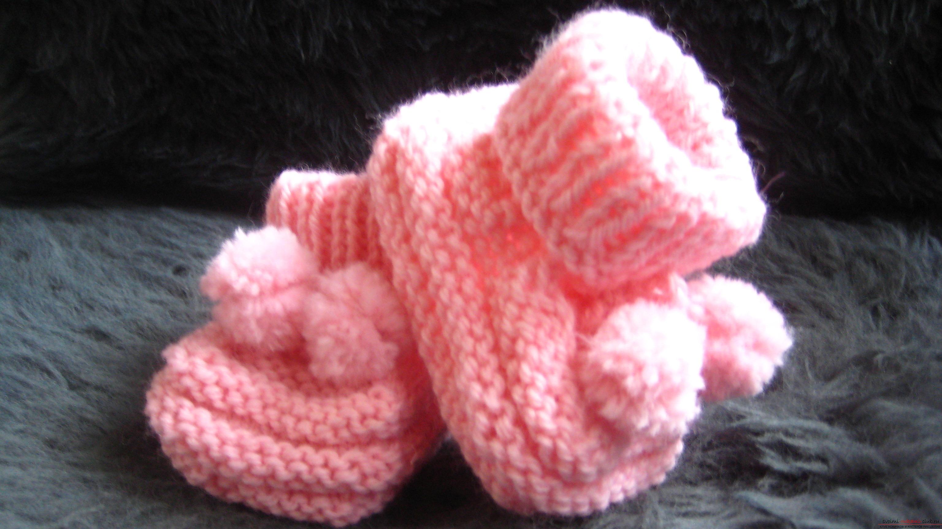 Носочки, тапочки для взрослых спицами » «Хомяк55» - всё