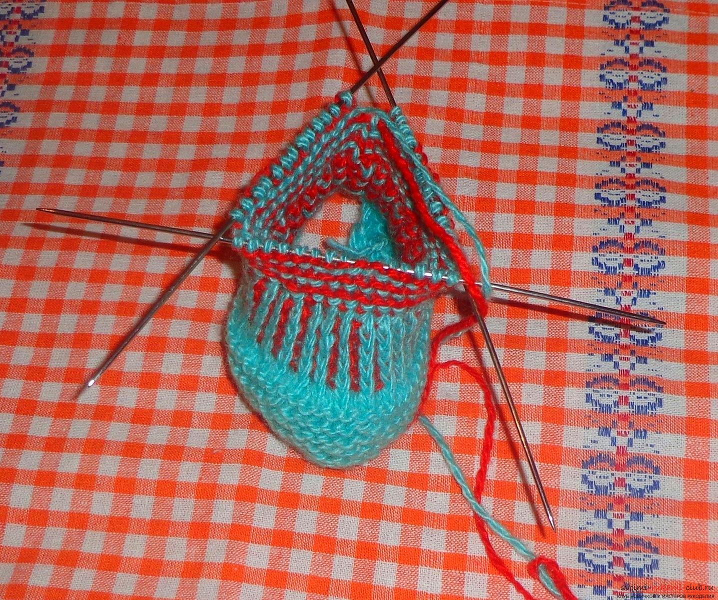 Вязание пинеток по шагам 3