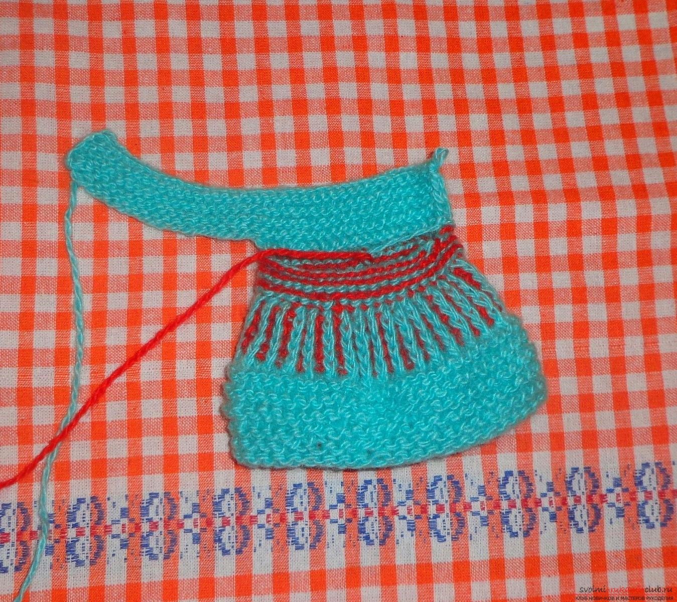 Вязание пинеток по шагам 32