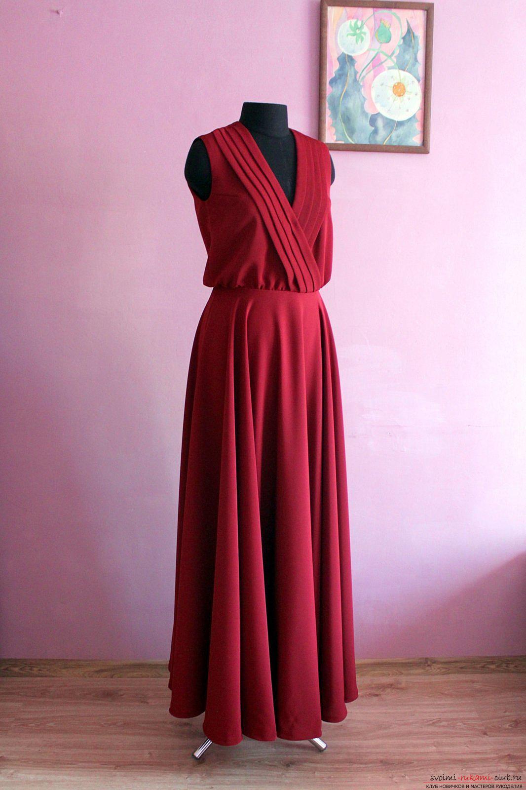 Как сшить платье без выкройки быстро 87