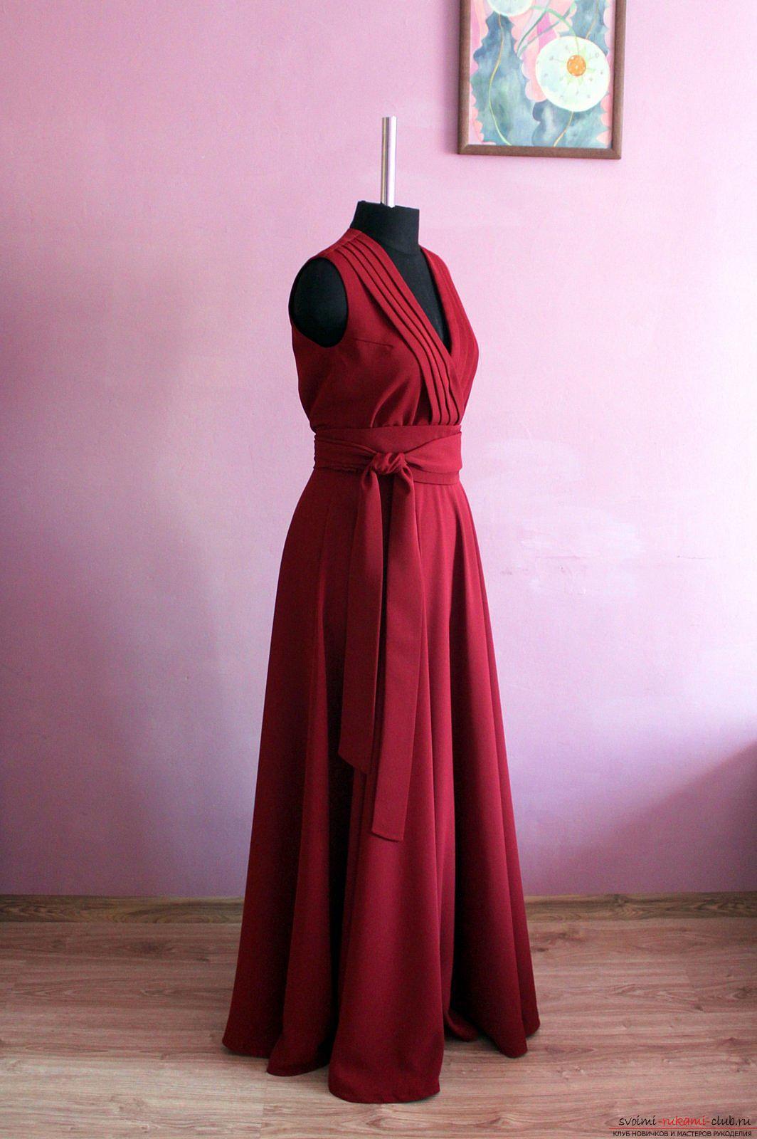 Сшить нарядное платье своими руками мастер класс фото 165