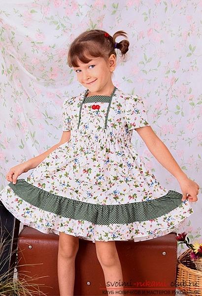 Платья для девочек на лето 5 лет