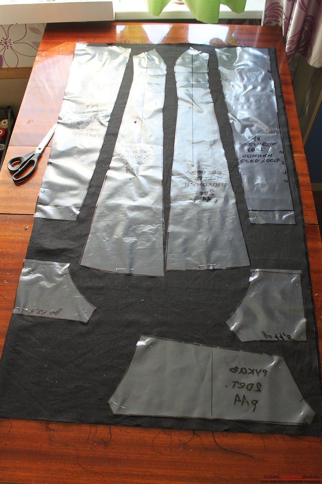 Этот подробный мастер-класс с фото и описанием научит как сшить своими руками платье из льна.. Фото №5