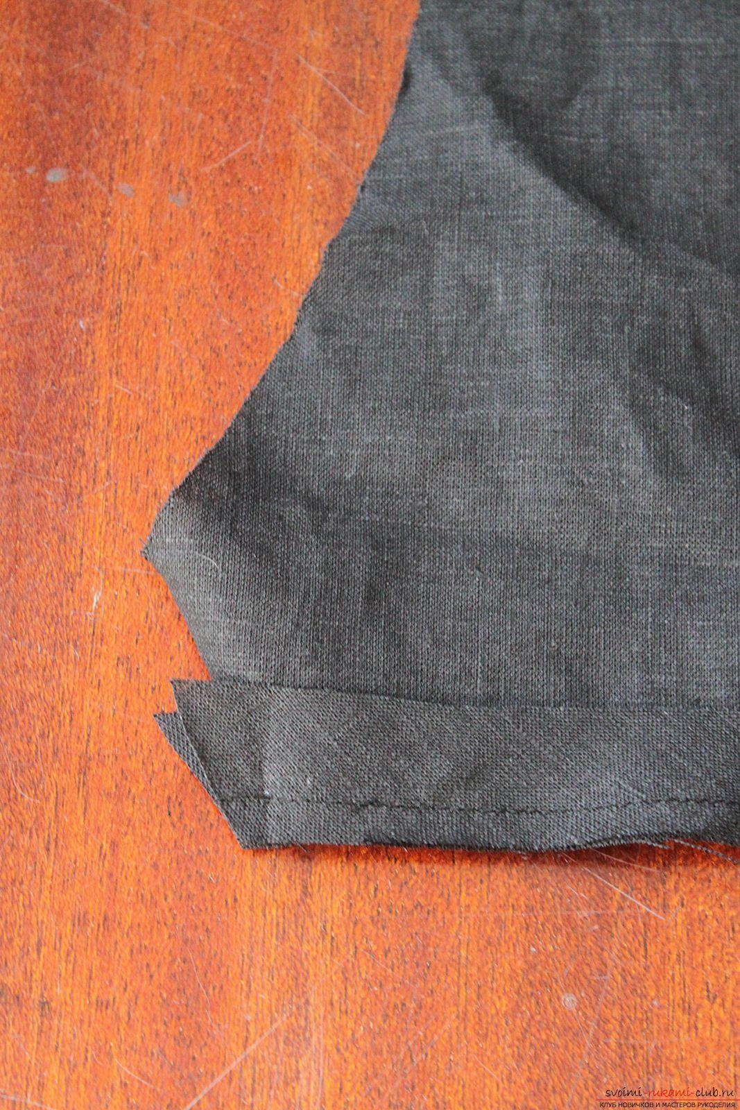 Этот подробный мастер-класс с фото и описанием научит как сшить своими руками платье из льна.. Фото №17