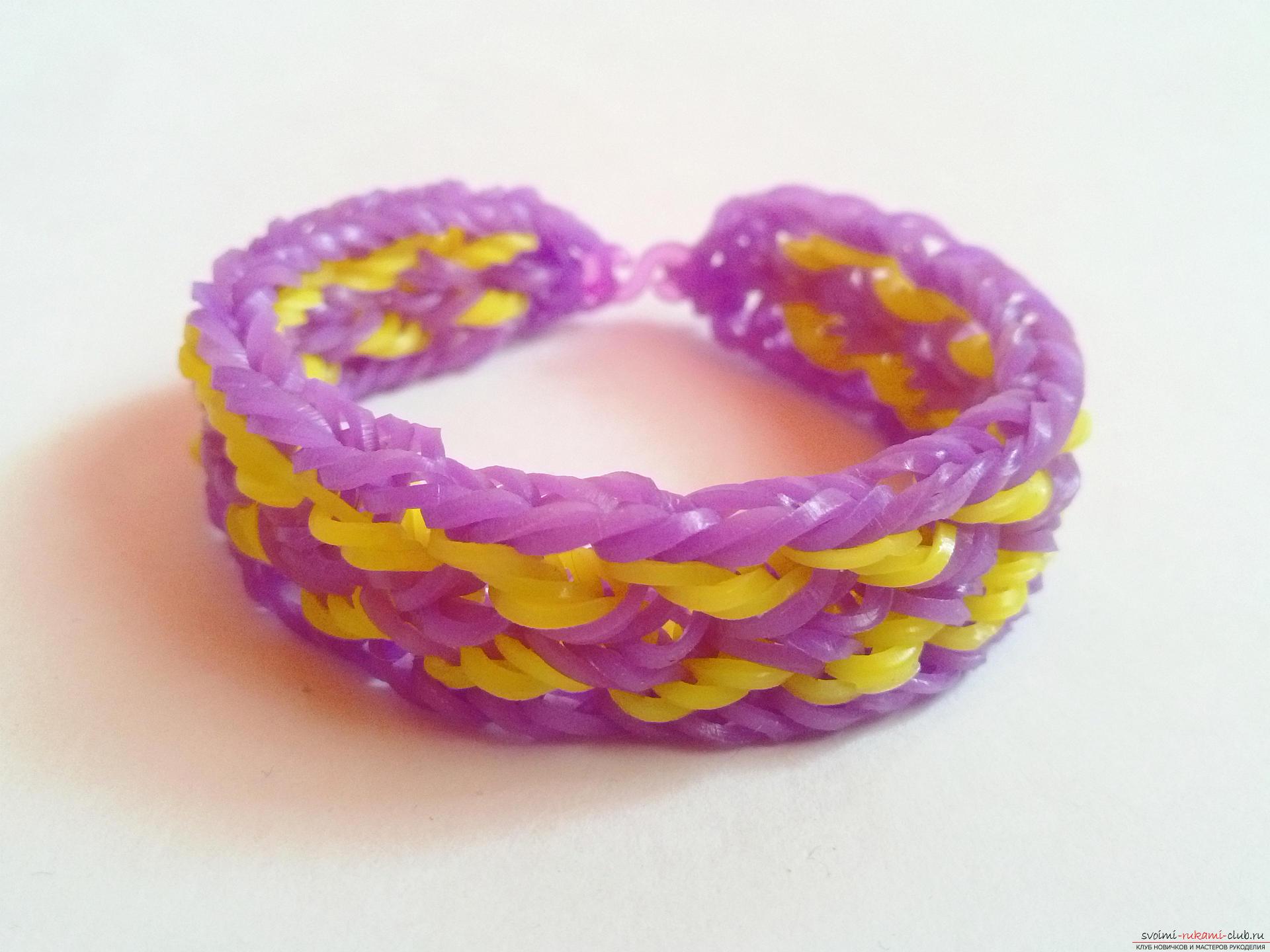 Виды плетения браслетов изделий