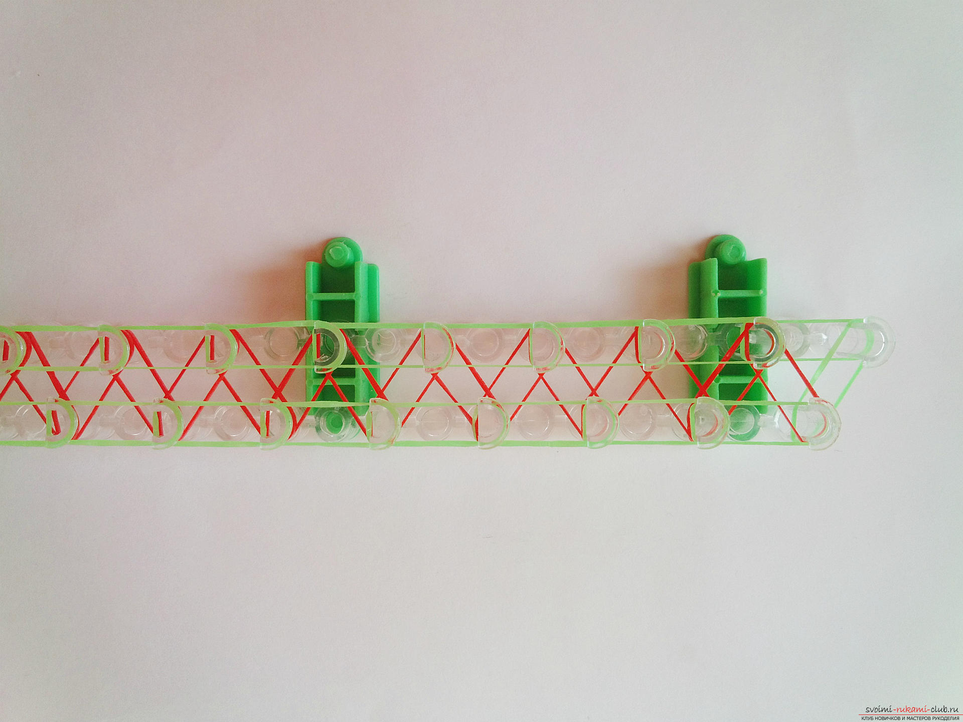 Плетение резинок на станке для новичков