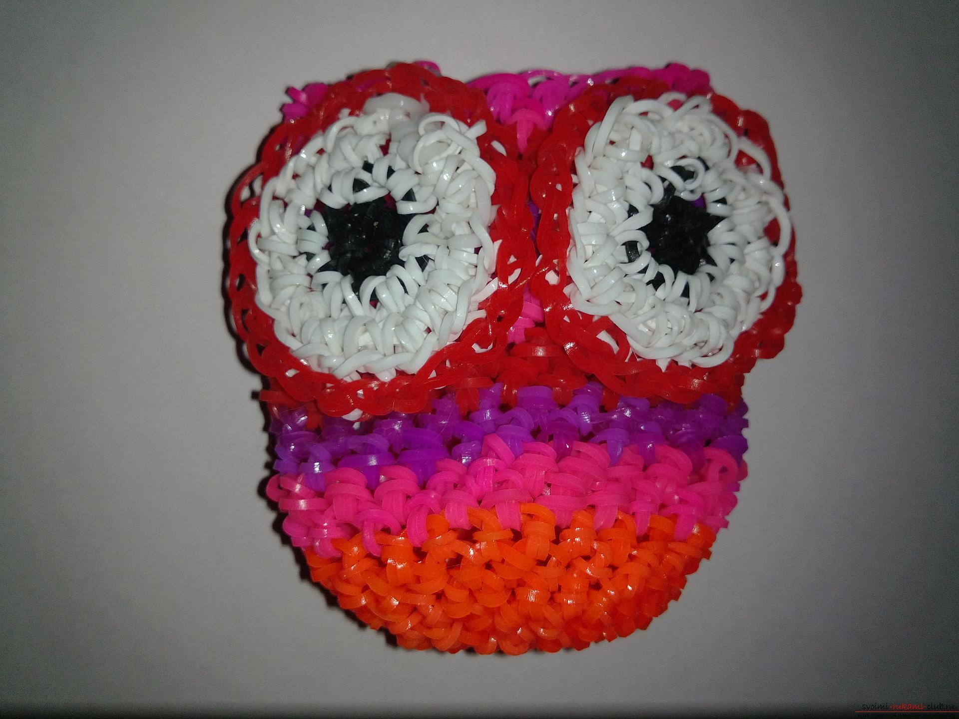 Резиночки плетем руками 53