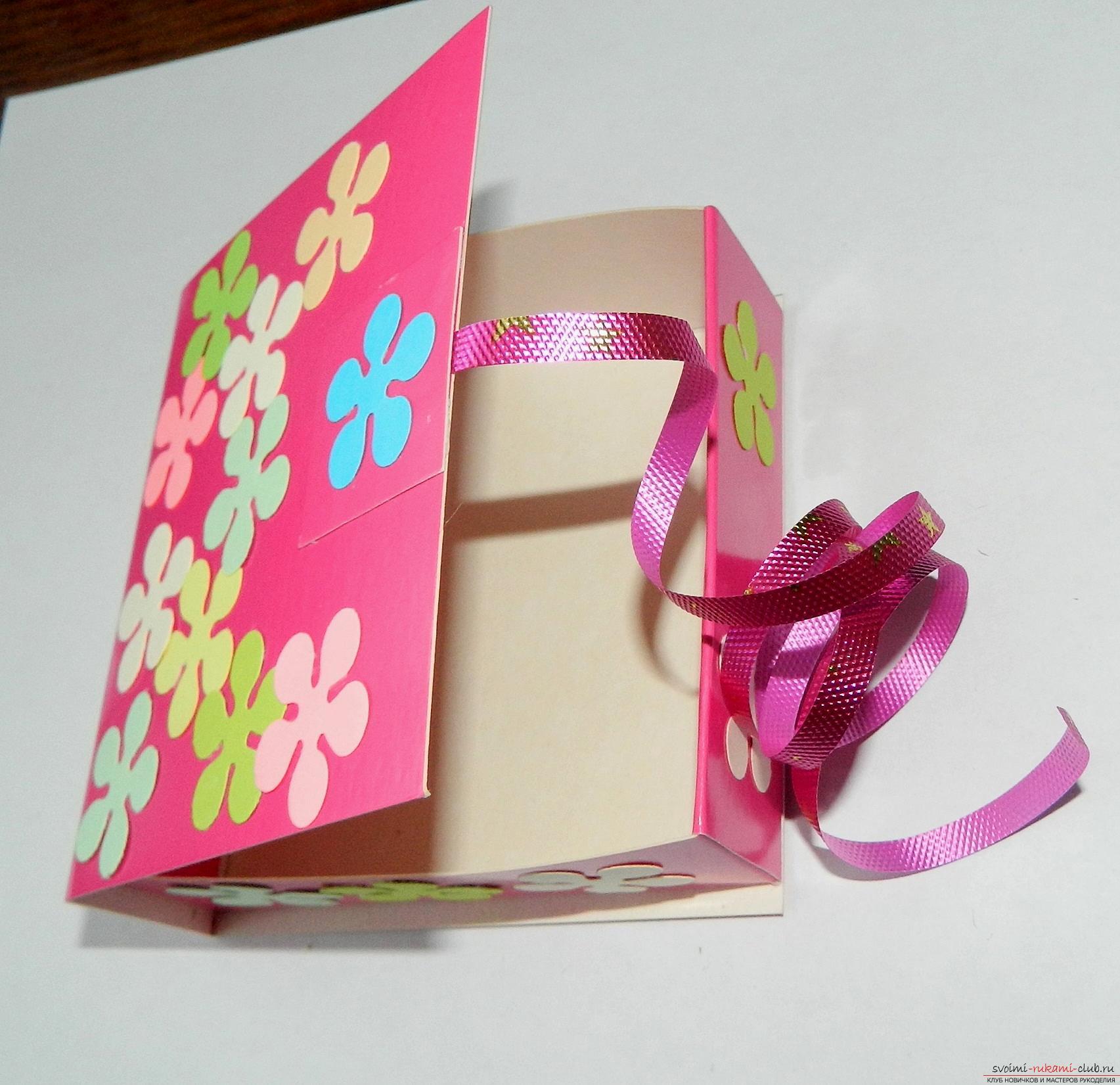 Подарочная коробочка своими руками 93