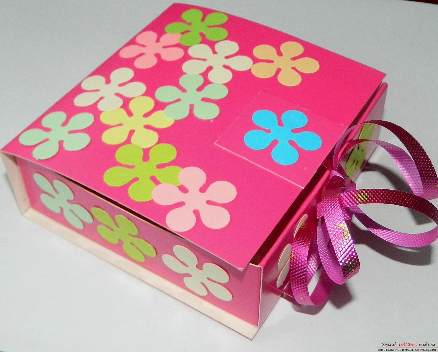как можно красиво оформить коробку для пожеланий опг