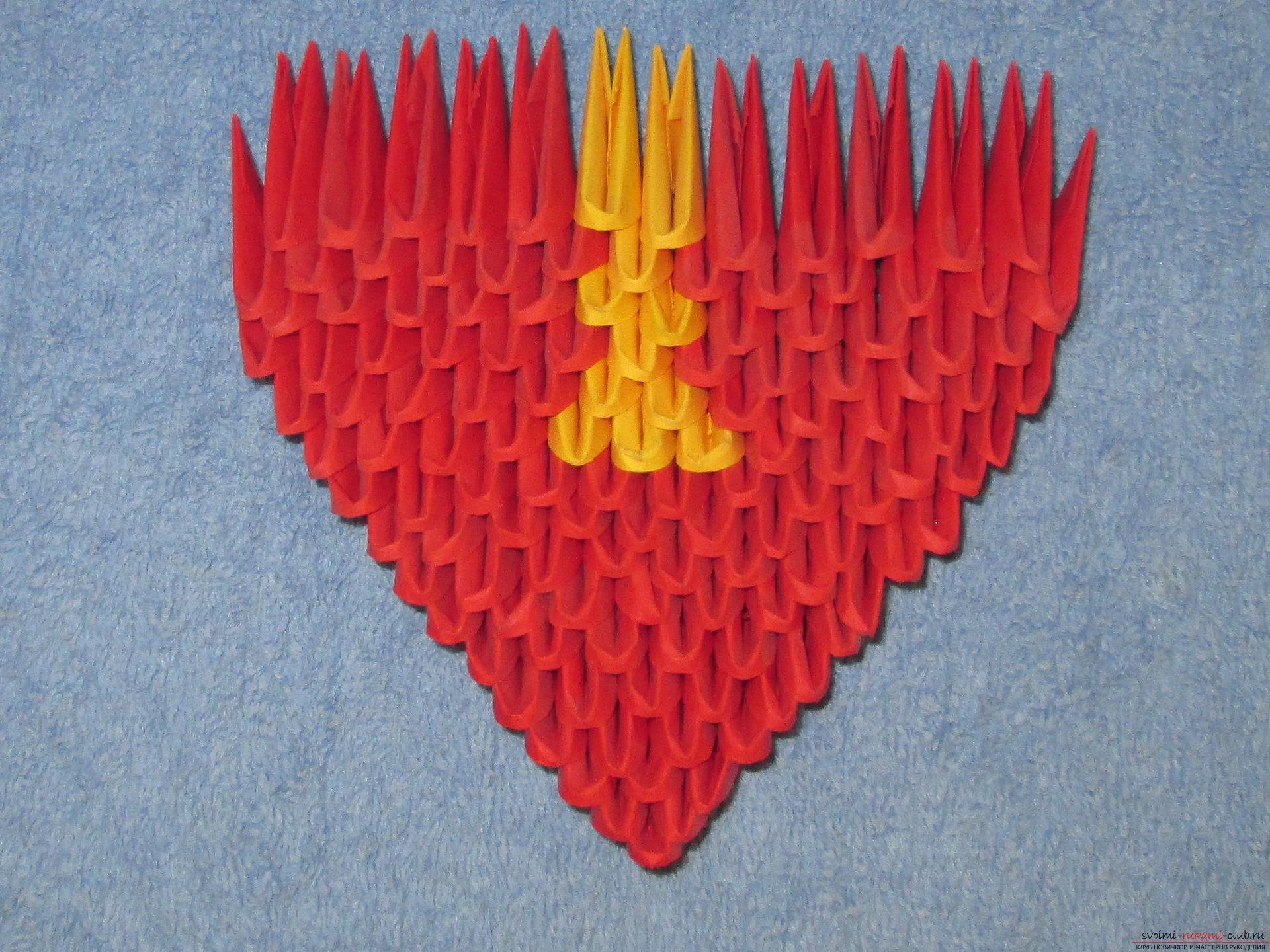 Оригами на Новый год 2016 43