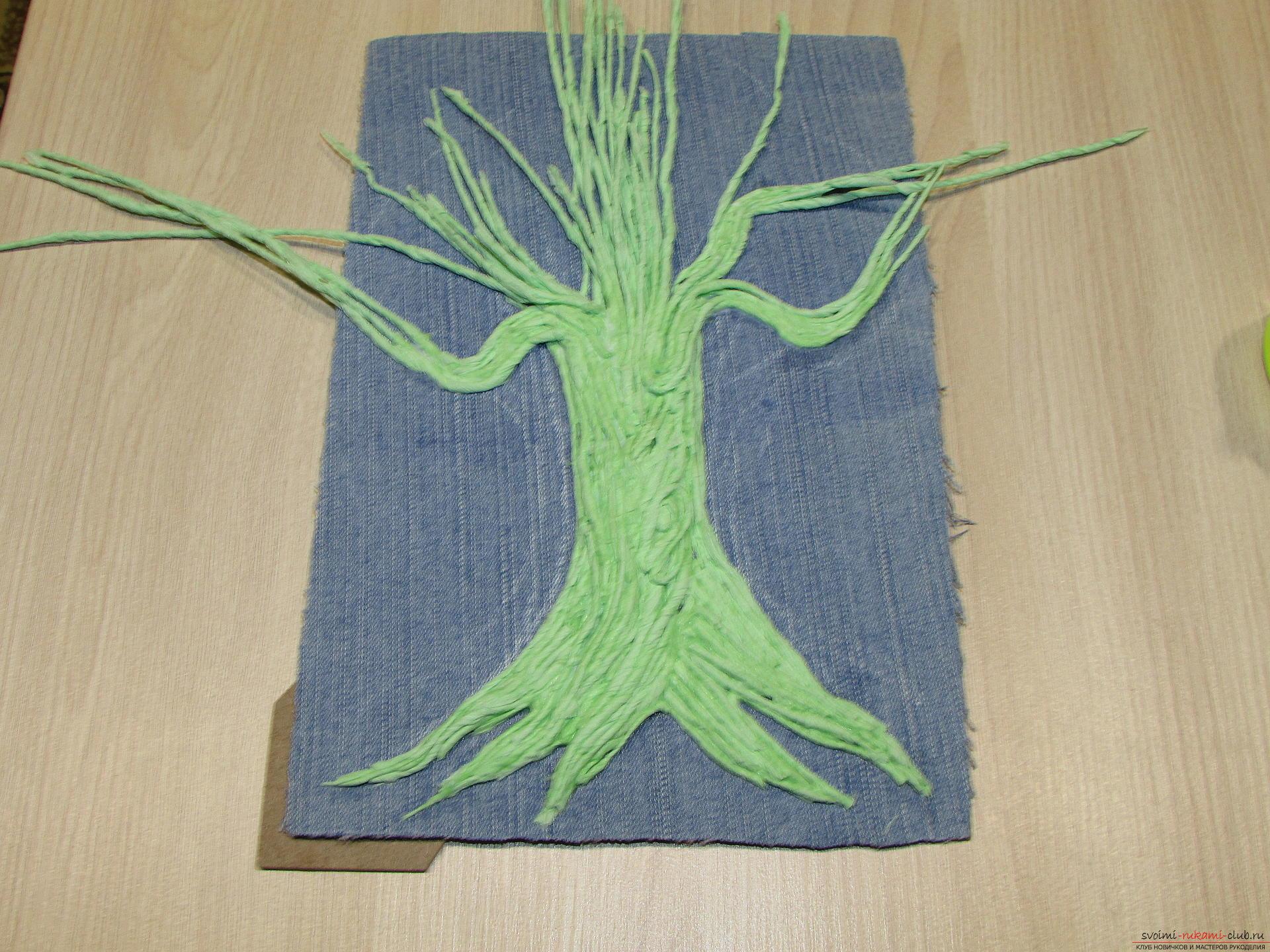 Мастер-класс покажет как сделать денежное дерево из монет своими руками.. Фото №9