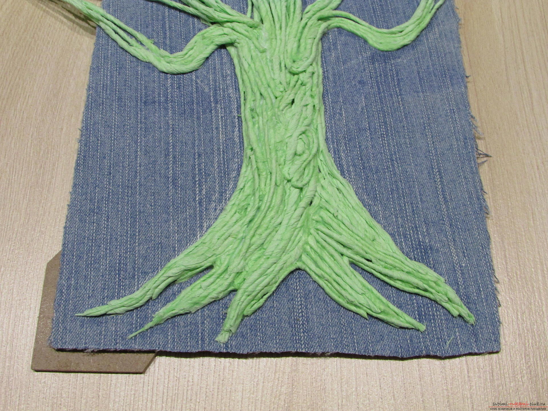 Мастер-класс покажет как сделать денежное дерево из монет своими руками.. Фото №8