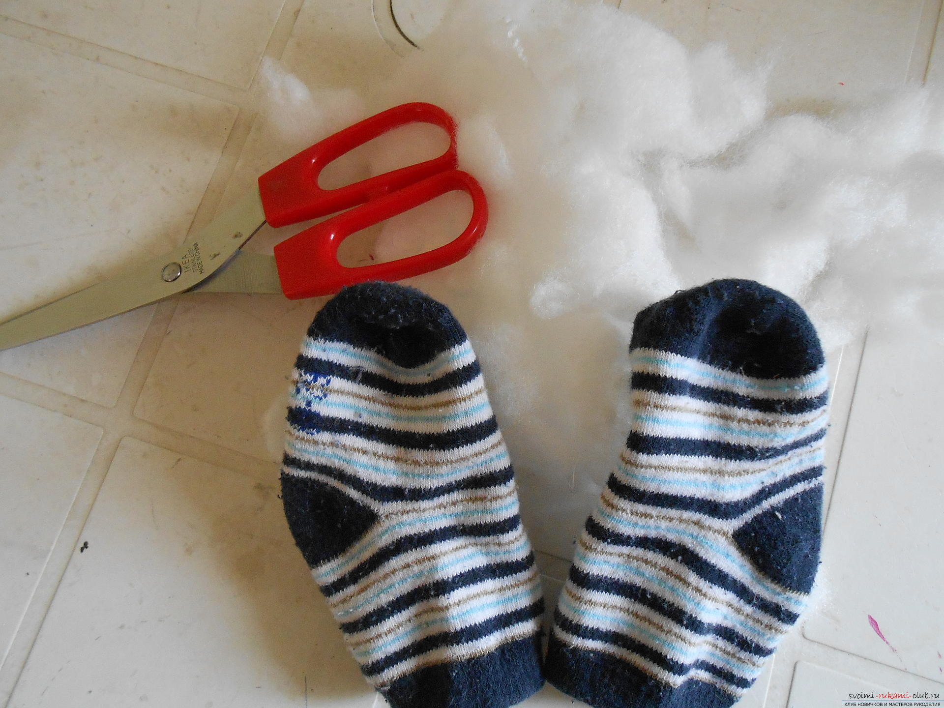 Поделки с носками фото