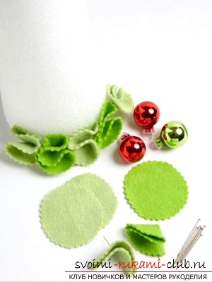 Разрабатываем игрушки из фетра своими руками