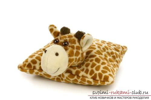 Красивые подушки для детей. Фото №1