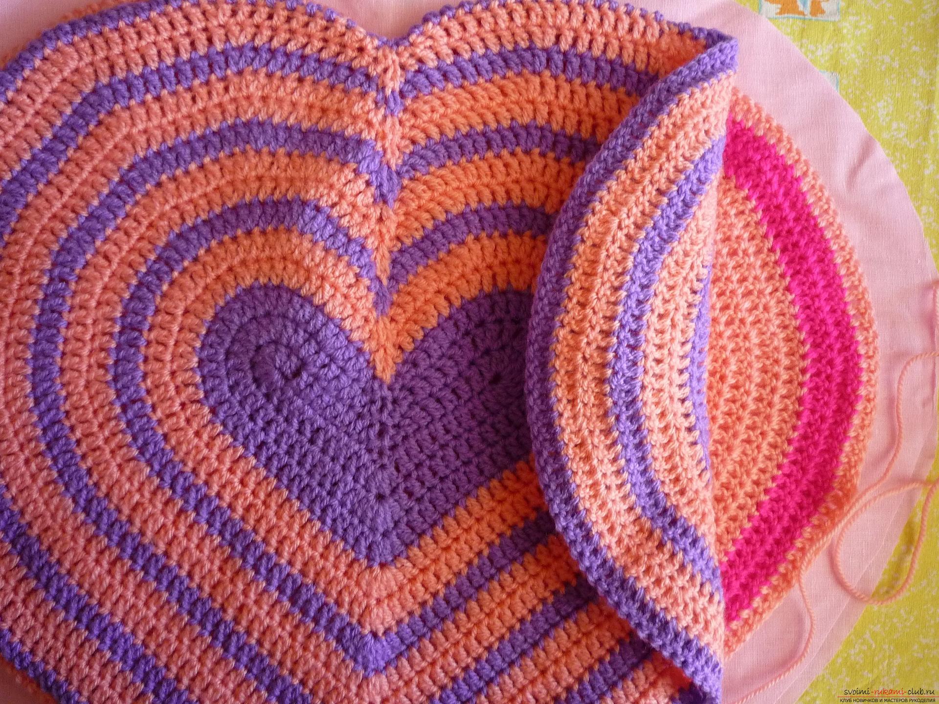 Вязание крючком для подушек для начинающих