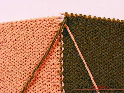 Как перекрещивать нити при вязание
