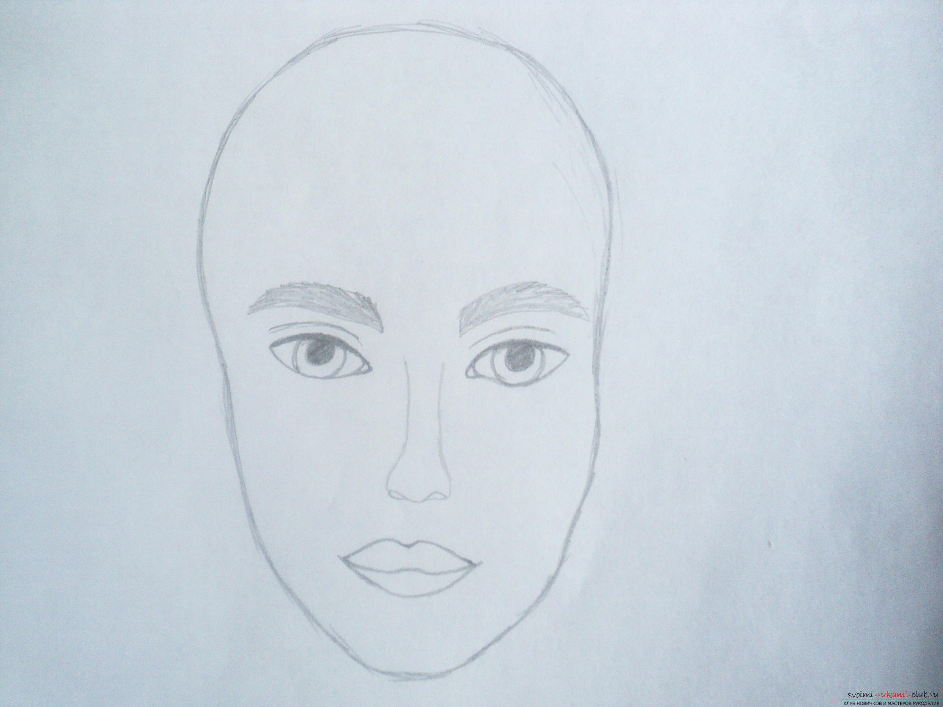 Автопортрет картинки карандашом для начинающих поэтапно