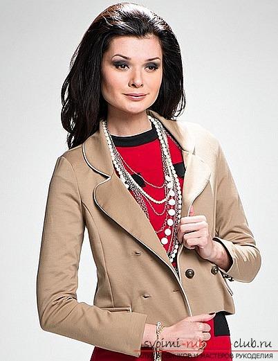 Выкройка и пошив женского пиджака