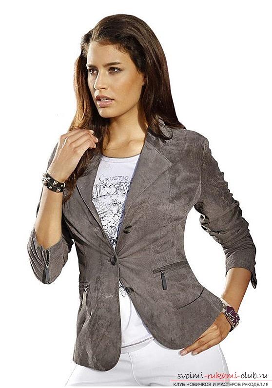 Выкройка пиджака своими руками женского