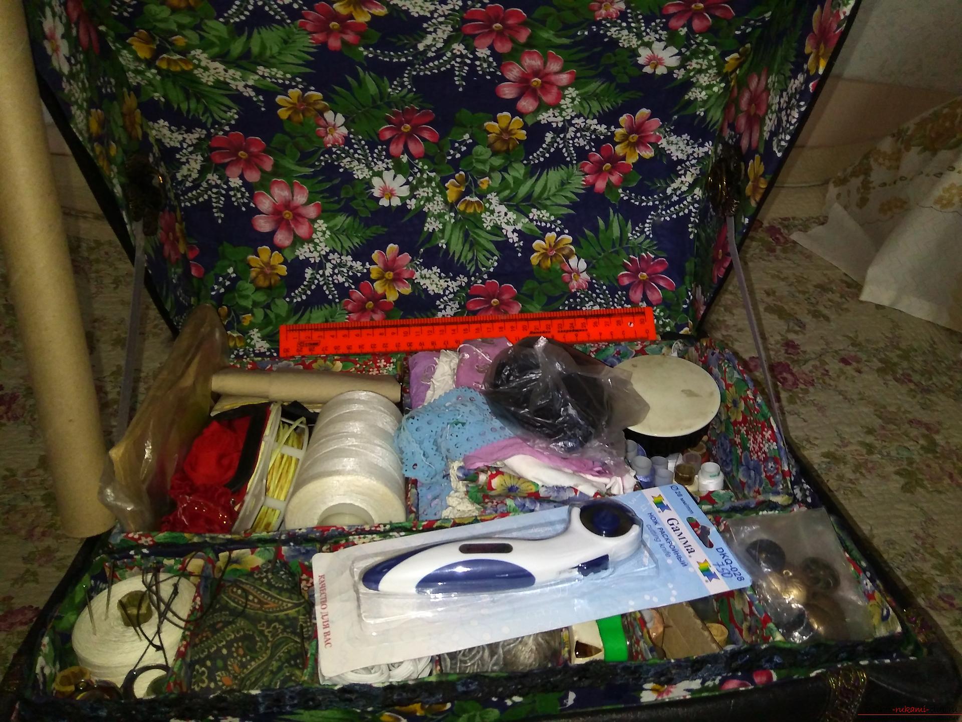 Сундучок-шкатулка для мелочей на Конкурс ПО ШВУ Пришли хвастушку, идеи и поделки для дома своими руками