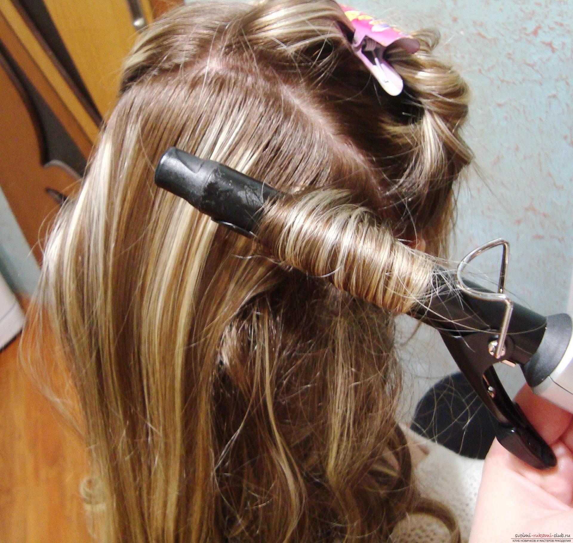 Мастер класс по причёскам на длинные волосы7