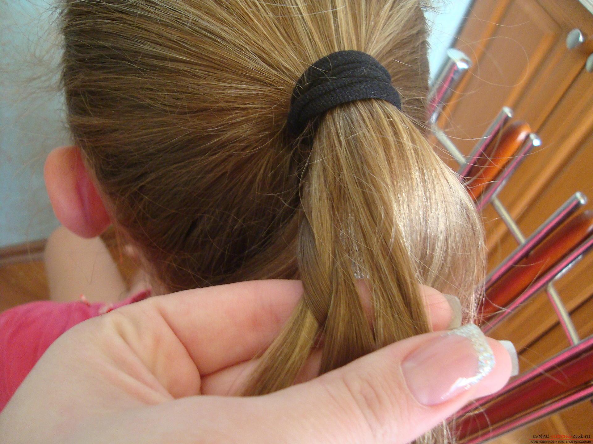Мастер класс по прическам длинных волос