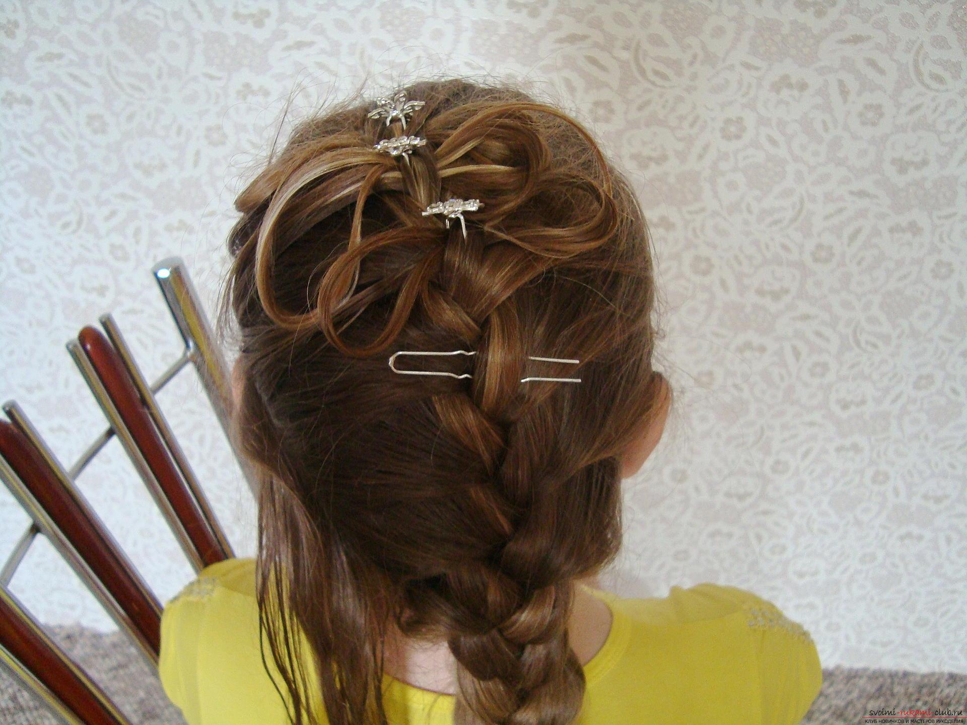Причёски своими руками косички фото