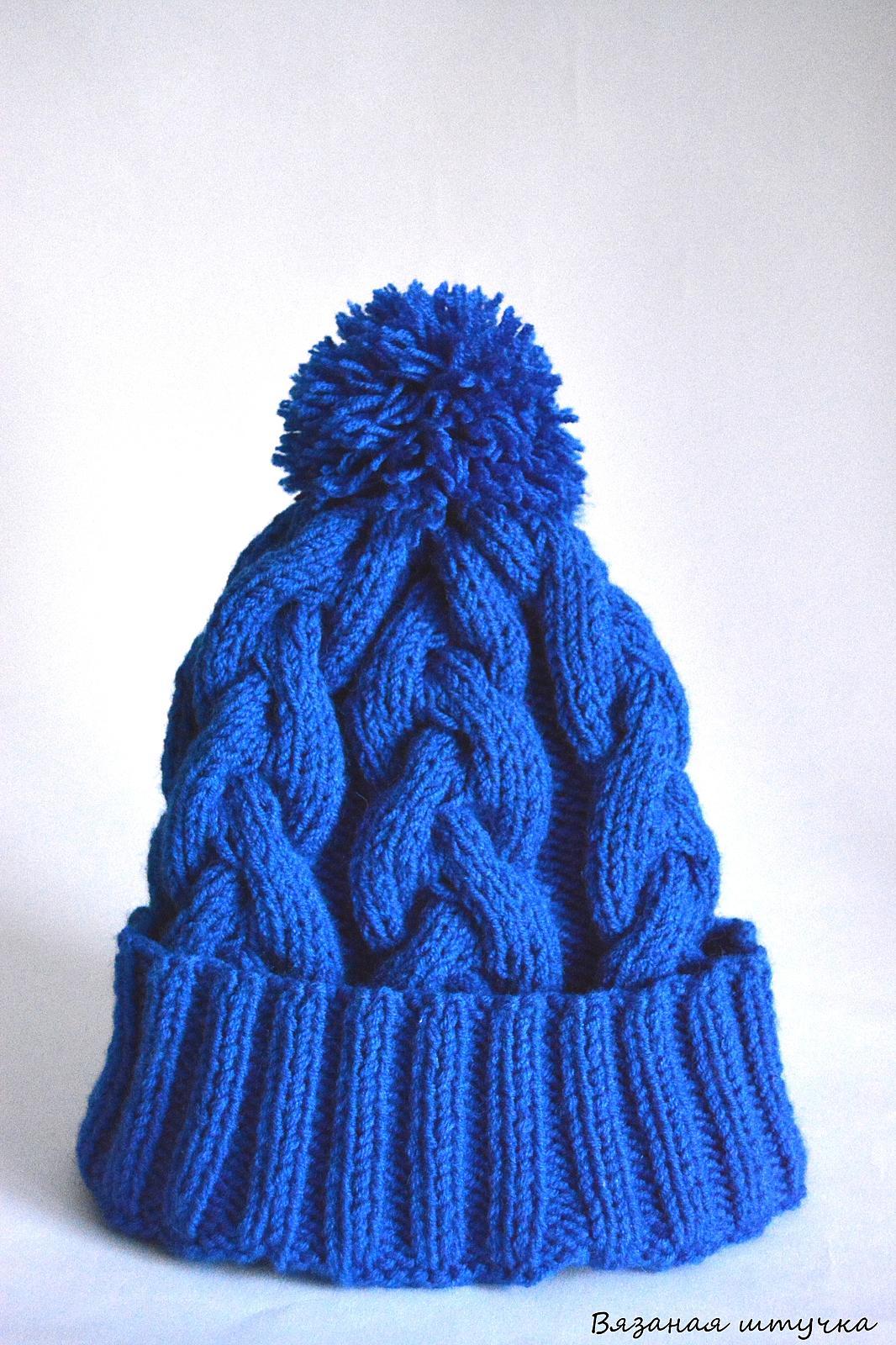 Вязать женскую шапку своими руками 211