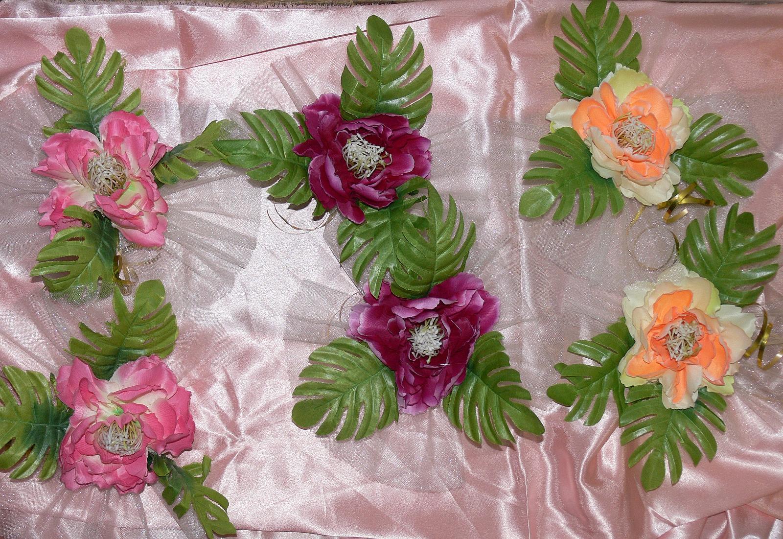 Цветы на свадебную машину своими руками