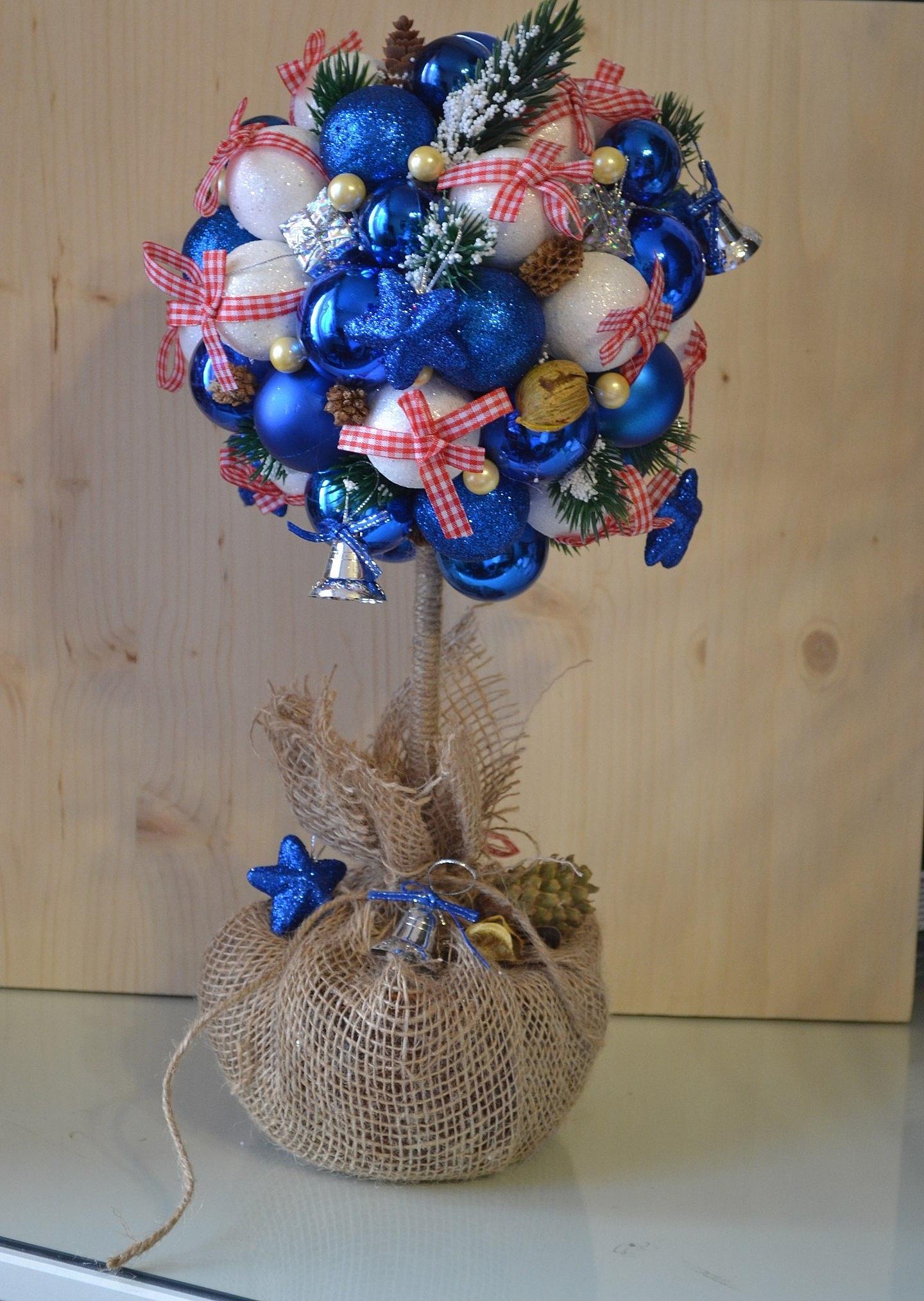 Дерево счастья новогоднее своими руками мастер класс пошагово фото 49