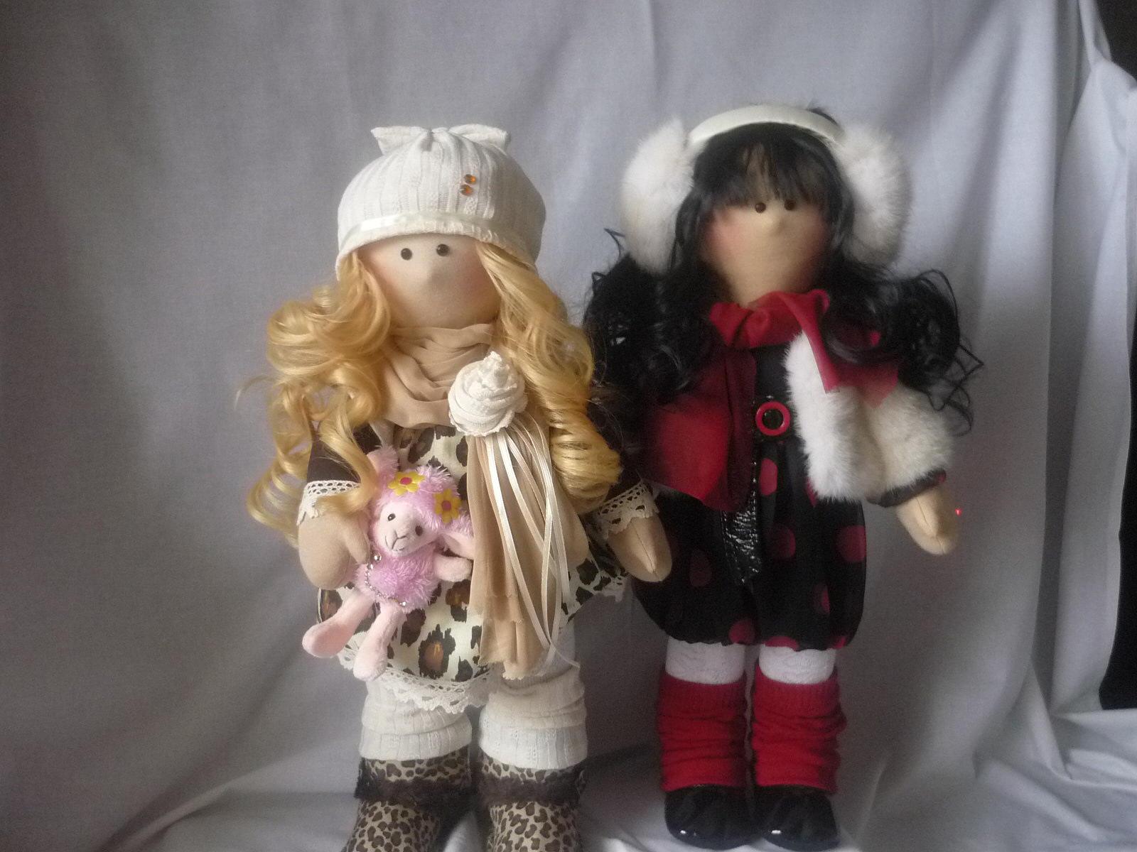 Интерьерные куклы своими руками для начинающих 952