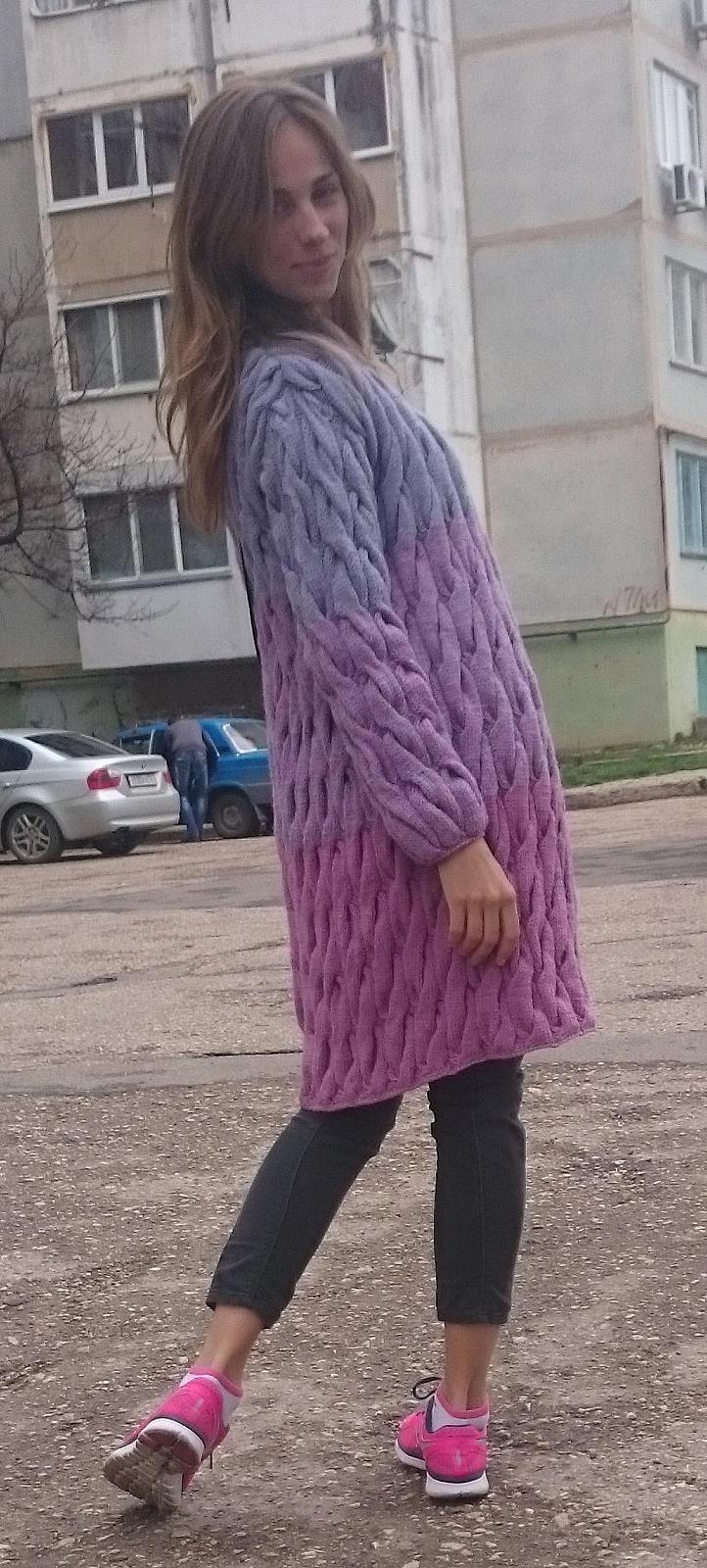 Градиент в вязании как делать