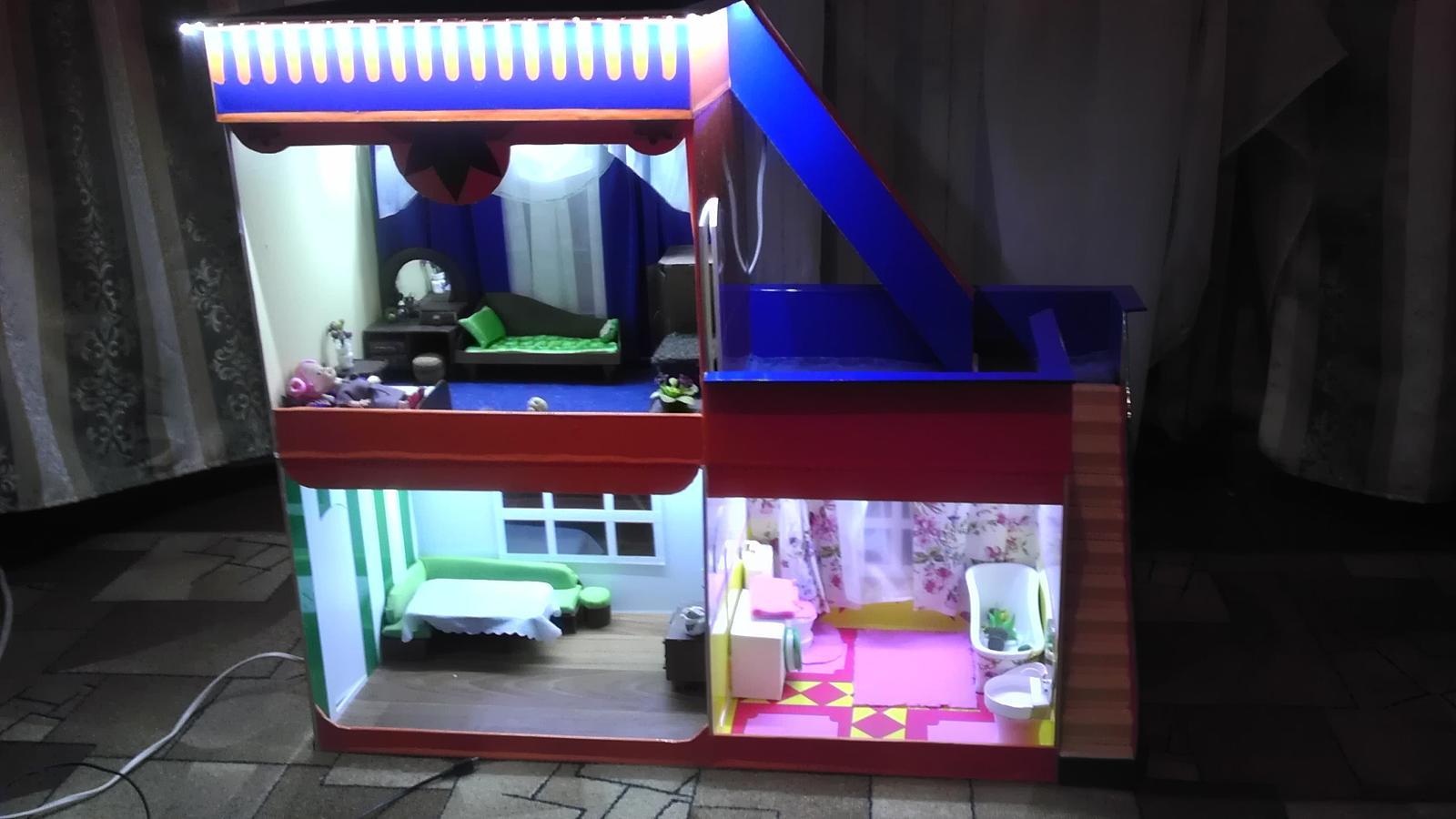 Пластиковый домик как сделать тетрадку своими руками в домашних условиях