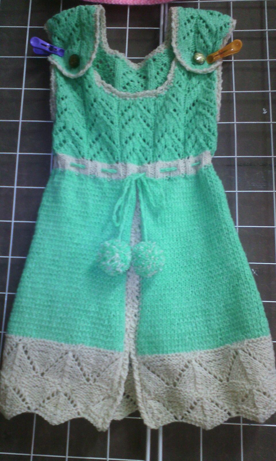 Теплые сарафаны для девочек (подборка) - Вязание - Страна Мам 32