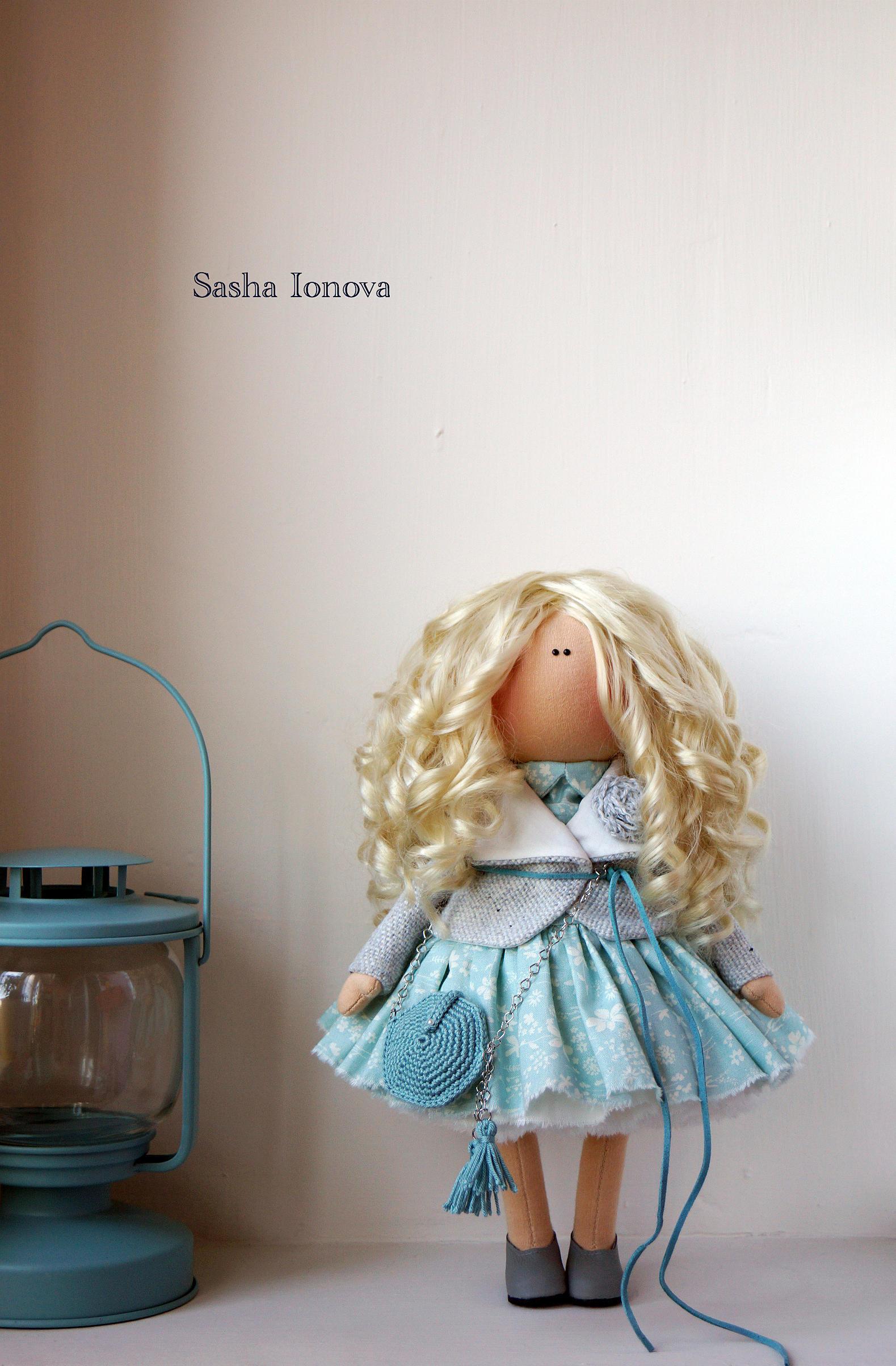 Интерьерная куколка своими руками 75