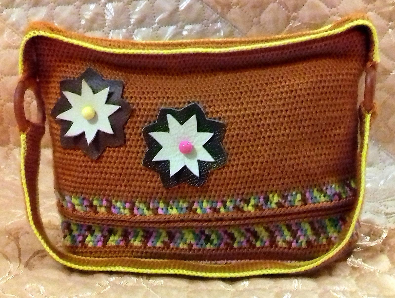 Вязанная сумочка своими руками 501