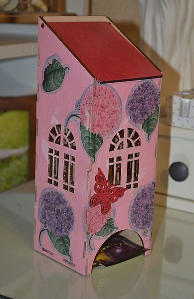 Чайный домик скрапбукинг фото 155