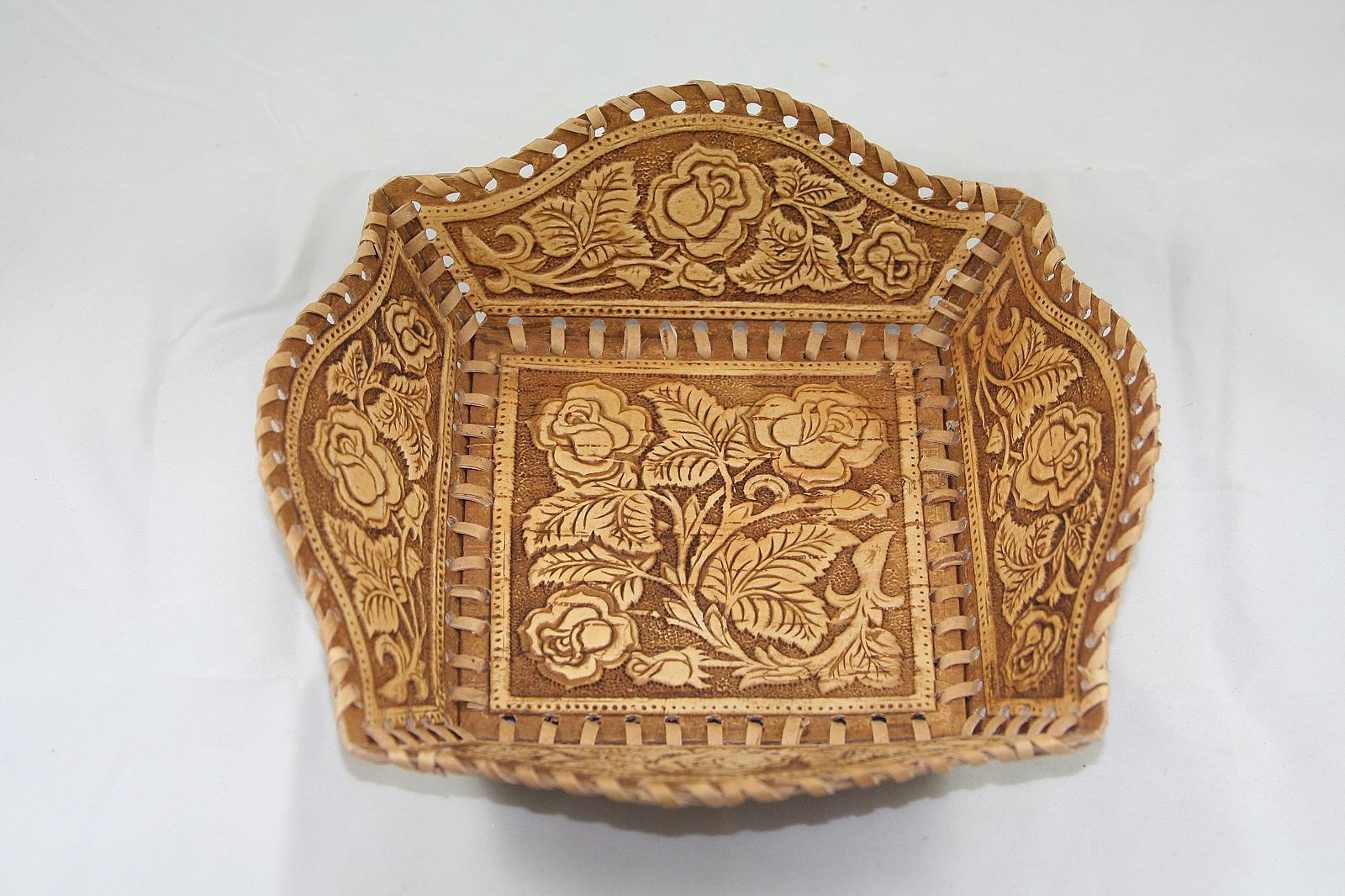 Хлебница из бересты своими руками мастер класс