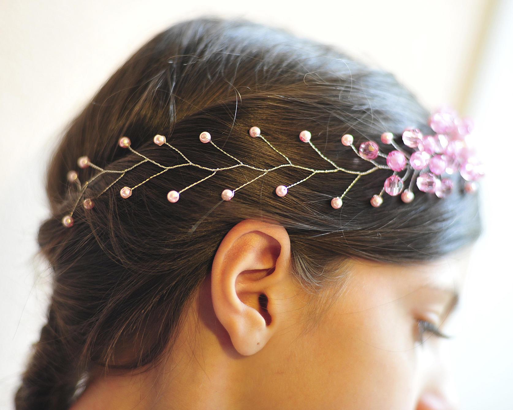 Украшения для волос своими руками. Как изготовить украшения