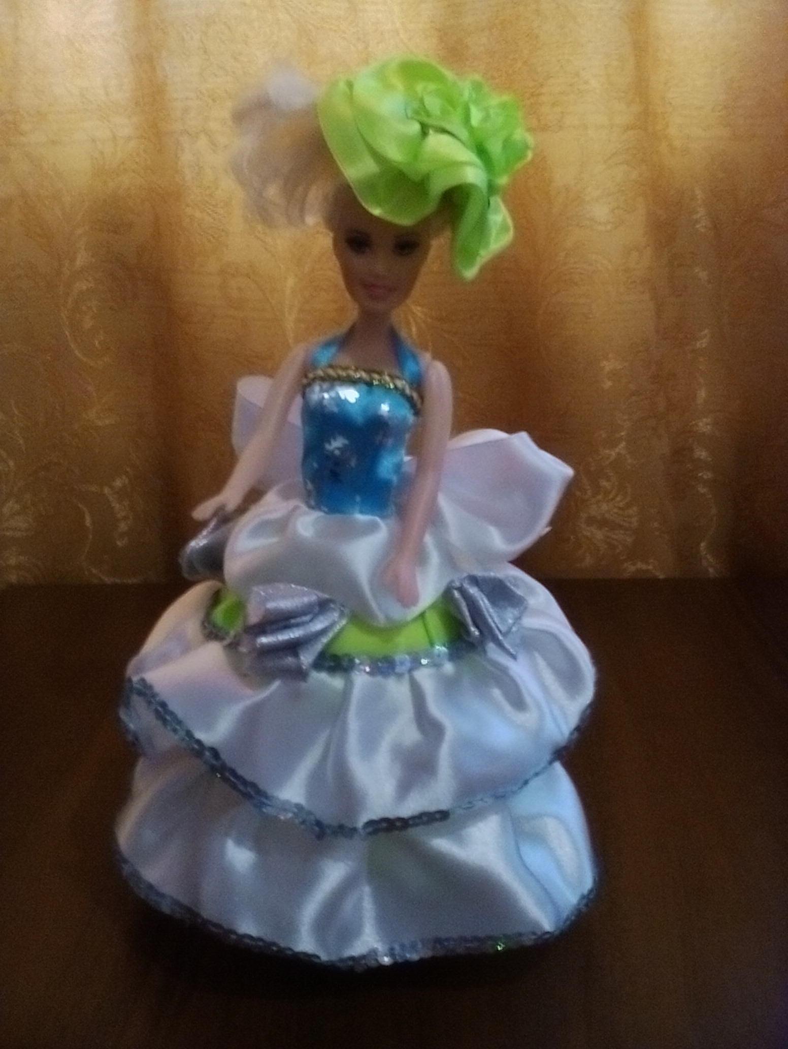 Кукла из пластиковой бутылки, шкатулка 5