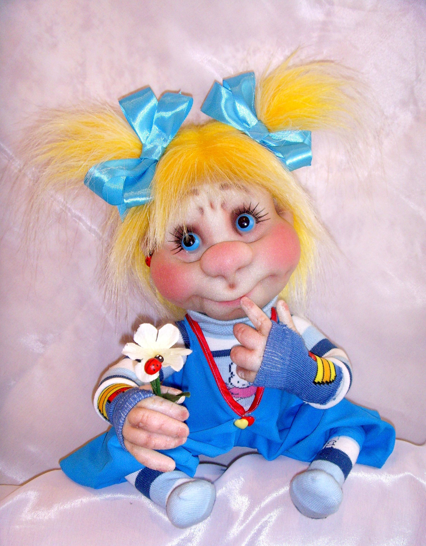Куклы поделка из капрона