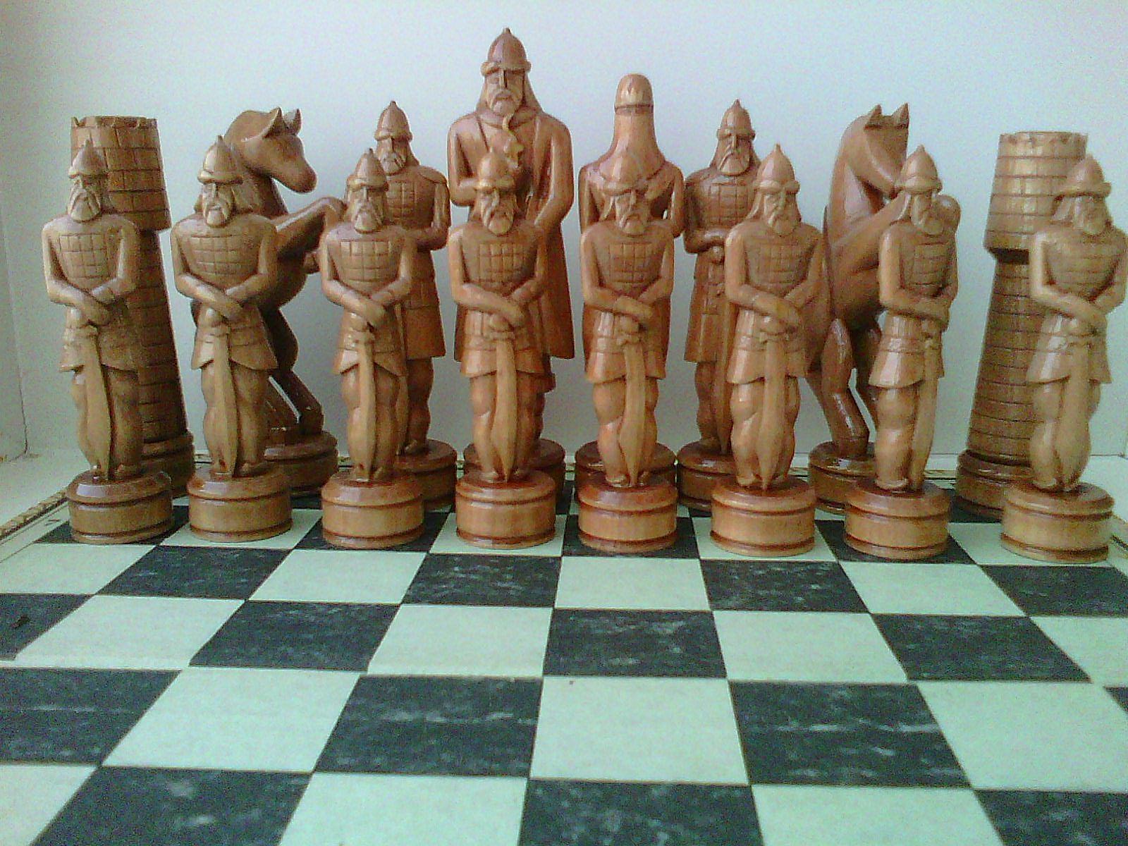 Как своими руками сделать шахматы своими руками из дерева 7