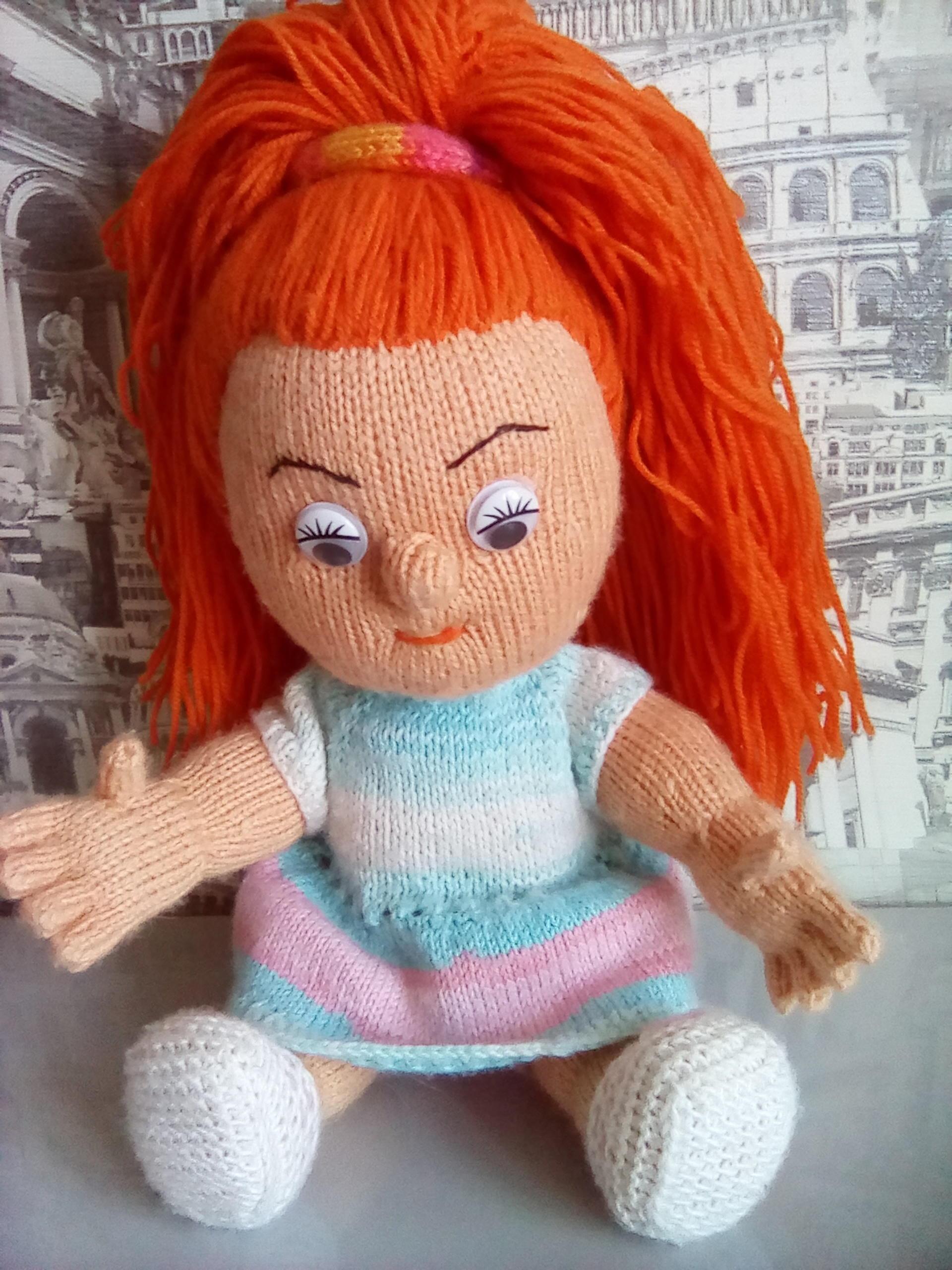 Вяжем куклу на ютубе 89