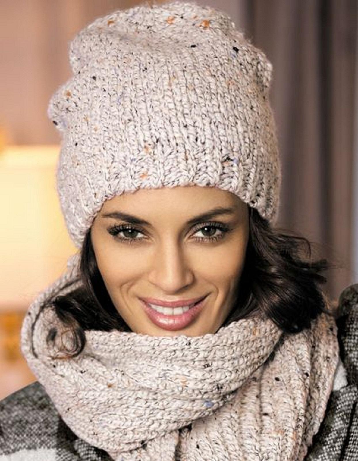 модные вязанные шапки молодежные