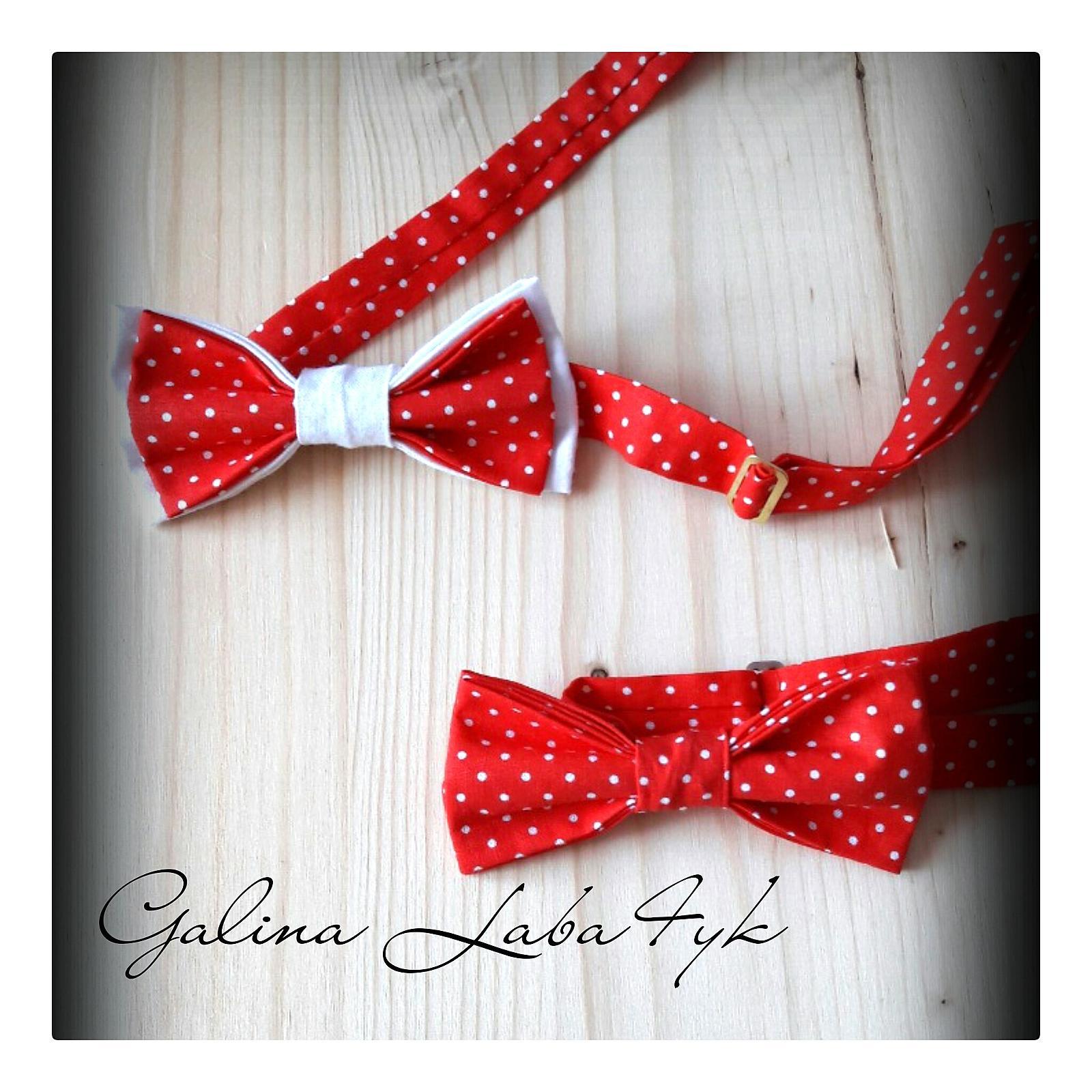 Красный галстук своими руками 20