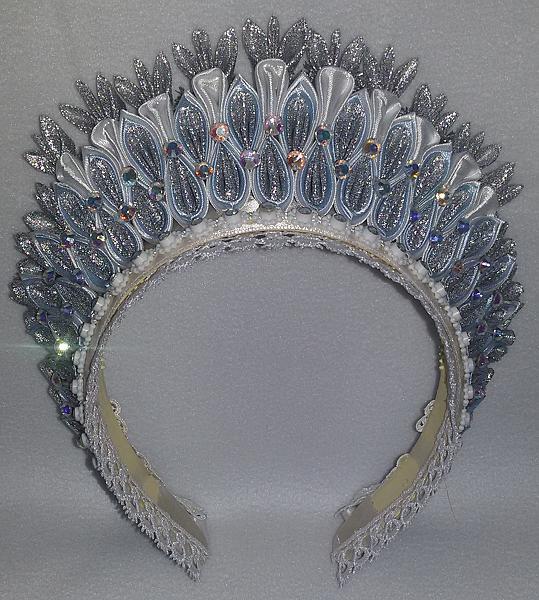 Как сделать корону для лебедя своими руками