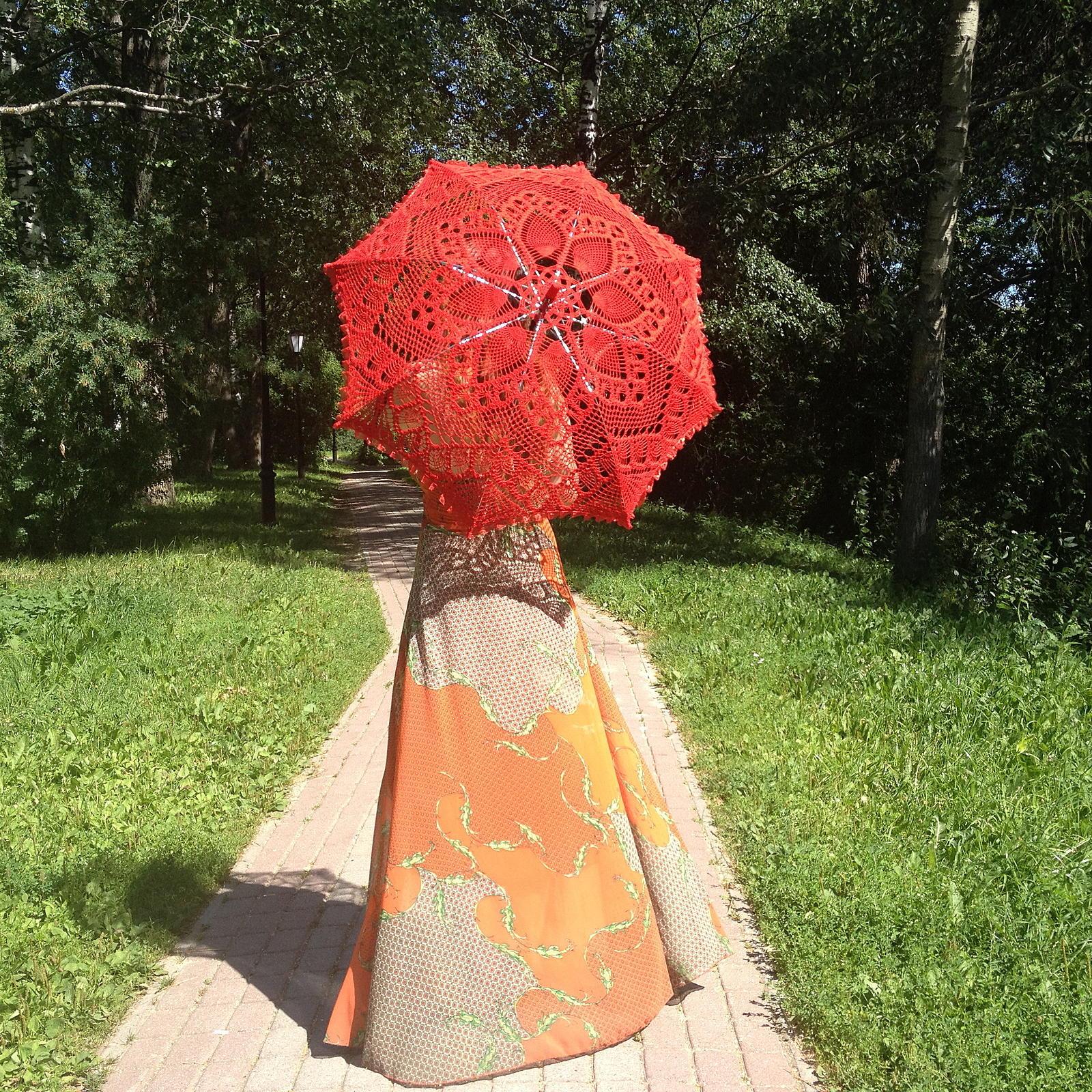 Своими руками свадебные зонт