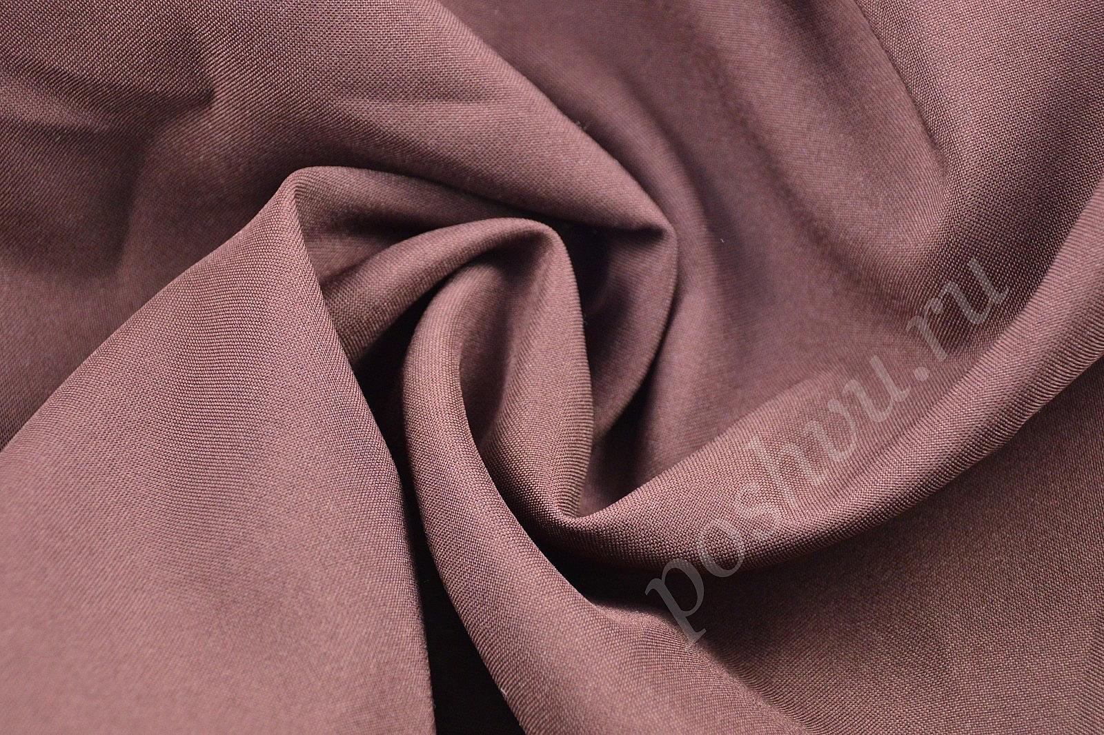 Шоколадная габардиновая ткань сделано своими руками